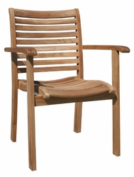 Italy Stacking Chair made by Chic Teak©