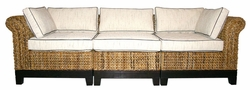 Naples Sectional Sofa, 3 Pieces
