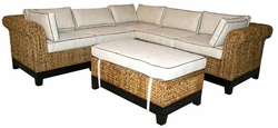 Naples Sectional Sofa, 6 pieces