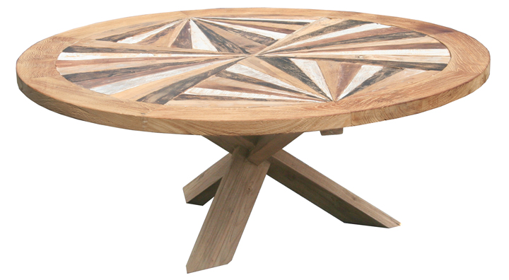 recycled teak coffee table. Black Bedroom Furniture Sets. Home Design Ideas
