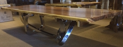 Stainless Dining Table Pedestal Rantai