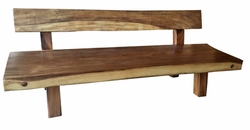 Suar bench with Back