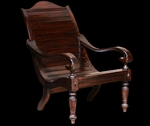 Teak Barbados Lazy Chair