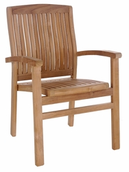 Teak Belize Arm Chair made by Chic Teak©