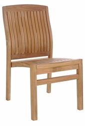 Teak Belize Side Chair made by Chic Teak©