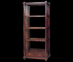 Teak Diamond Bookcase