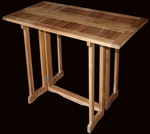 Teak Hatteras Bar Table