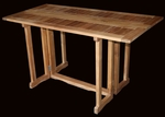 Teak Hatteras Rectangular Folding Table