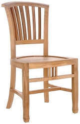 Teak Orleans Side Chair made by Chic Teak©