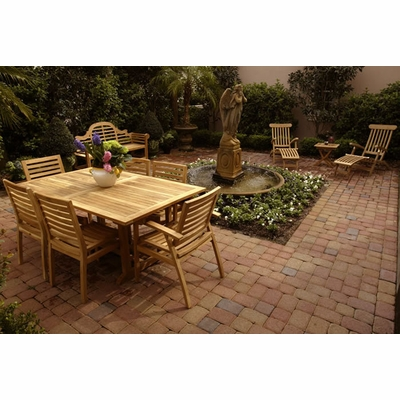 Teak Patio - click to enlarge