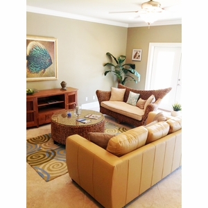 water hyacinth coffee table in destin | foley | pensacola | orange