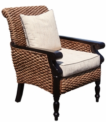 Water Hyacinth Milan Lazy Chair
