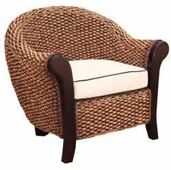 Water Hyacinth Soldano Club Chair