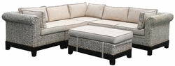 West Palm Sectional Sofa, 6 pieces