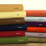 100% Cotton Flannel Sheet Sets-Solid Colors by Tribeca Living