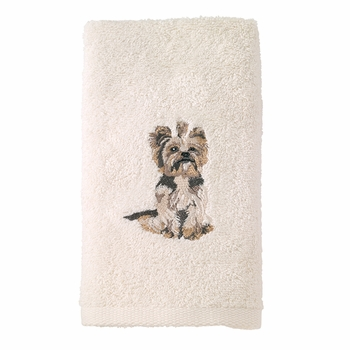 Avanti Top Breed Dog Embroidered Hand Towels (Pkg of 2)