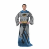 Batman Comfy Throw-Blanket With Sleeves-Adult Size