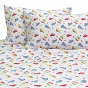Boats Twin Sheet Set by Melanie & Max