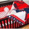 Boston Red Sox 4-Piece Crib Set