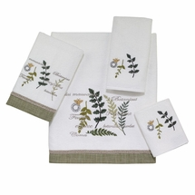 Botany 6 Piece Embellished Towel Set by Avanti Linens