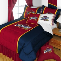 Cleveland Cavaliers Sidelines NBA Basketball Bedding