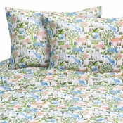 COOL ANIMALS Twin Sheet Set by Melanie & Max