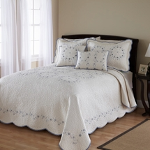 Delphine Bedspread Collection by Nostalgia Home