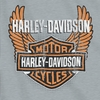 "Harley Davidson Biker Badge Sweatshirt Throw 50"" x 60"""