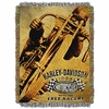 Harley Davidson Free Racers Tapestry Throw
