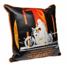 Harley Davidson� Rider Square Pillow