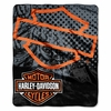 Harley-Davidson Road Rash  Throw Blanket  (Bar & Shield Logo)