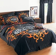 Harley Davidson� Tattoo Bedding