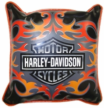 Harley Davidson� Tattoo Decorative Pillow