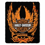 Harley Davidson�  Blankets & Throws