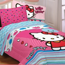 "Hello Kitty ""Free Time"" Bedding"