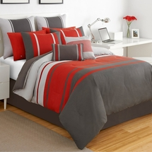 IZOD Beacon Stripe Comforter Set