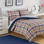 Izod Par Plaid Comforter Set