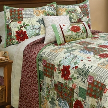Joy Noelle Holiday Quilt Set with Shams