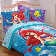 "Little Mermaid ""Shimmer & Gleam"" Girls Bedding"