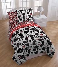 Mickey Funny Faces Bedding for Kids