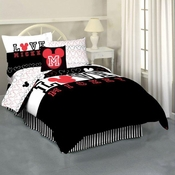 Mickey Love Twin Bedding