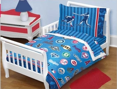 MLB Playoffs Toddler Bedding Set