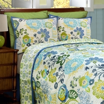 Razzle Cotton Quilt Set with Shams