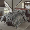 Realtree Xtra Green  Camouflage Twin Comforter Set