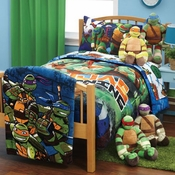 "Teenage Mutant Ninja Turtles ""NYC""  Twin Bedding"