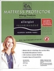Waterproof Mattress Protector-Zippered-3/4 Bed Size