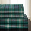Jackson Plaid   Flannel Sheet Set By Winter Nights
