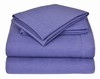 Winter Nights Flannel Sheet Set-Pacific Blue