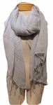 Eileen Fisher Airy Linen Cashmere Scarf - SOLD OUT