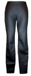 Eileen Fisher Coated Organic Cotton Stretchy Denim Leggings-Black